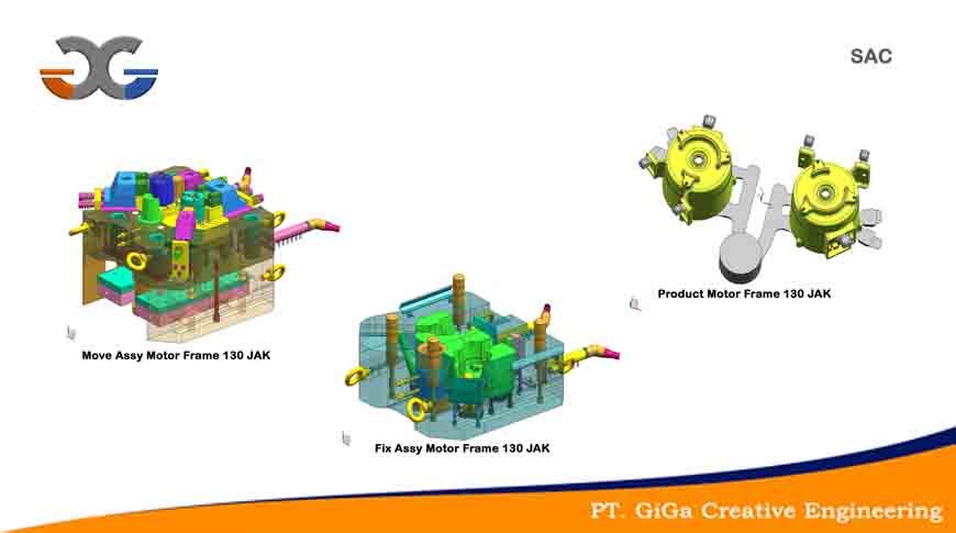 Mold and Dies manufacturing PT.  Giga Creative Engineering