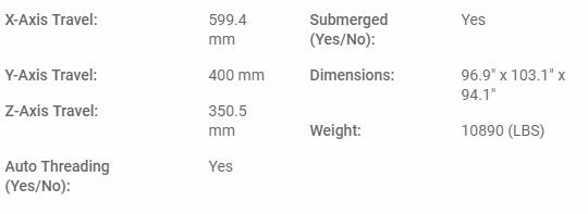 SODICK AG600L+LN2W (60A)